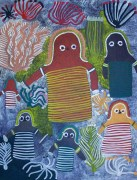 Angelina NGALE - Women's Dreamtime Story near Willowra