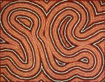Clifford POSSUM TJAPALTJARRI - Narripi Worm Dreaming